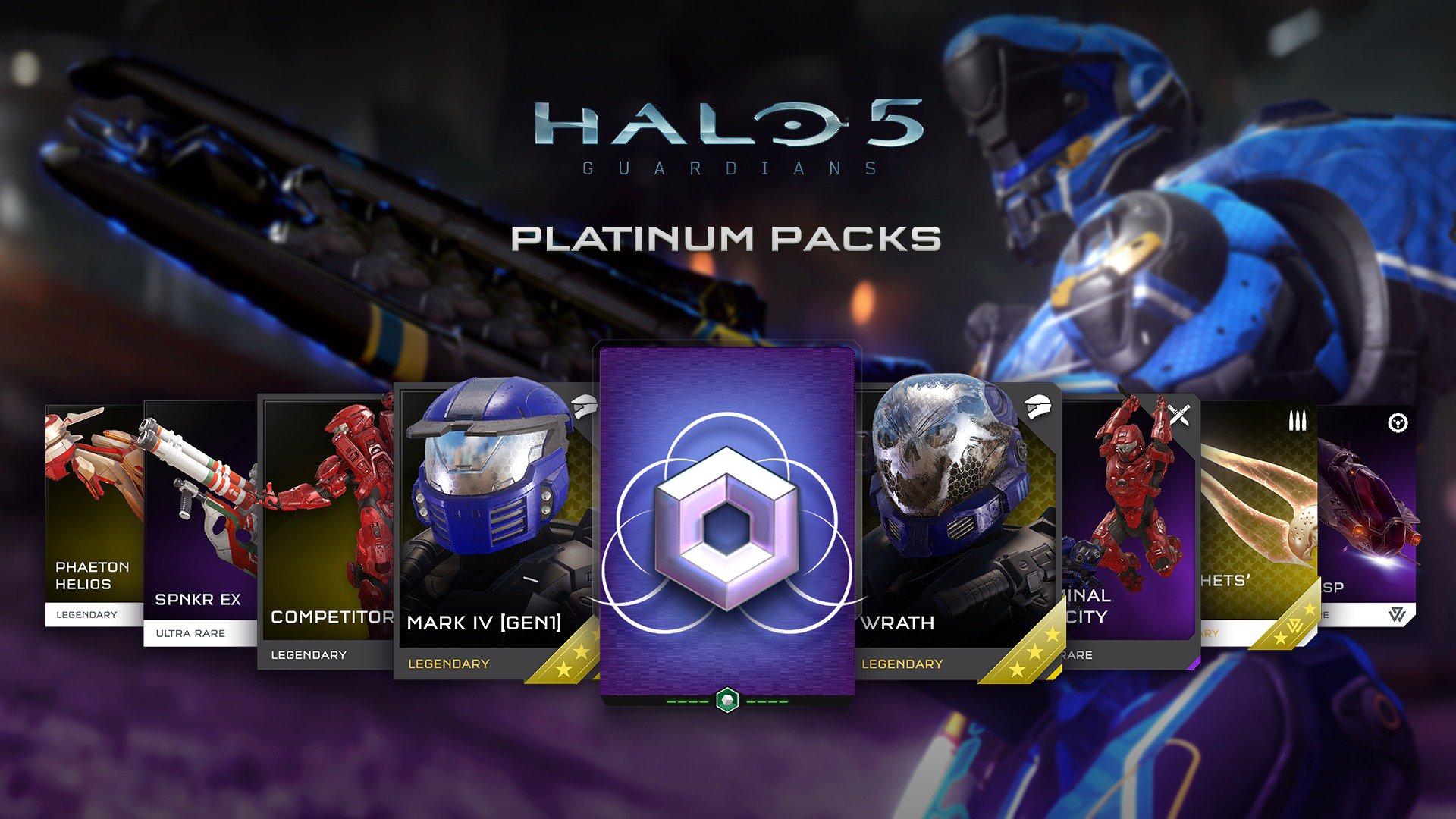 [Sous Conditions] Sélection de DLC pour Halo 5 et Halo Wars 2 offerts sur Xbox One - Ex : Pack Platinum REQ pour Halo 5