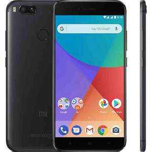 """Smartphone 5,5"""" Xiaomi Mi A1 (Noir) - Android One, 4G (B20), Full HD, Snapdragon 625, RAM 4 Go, ROM 32 Go (+ 38.75€ en SuperPoints)"""