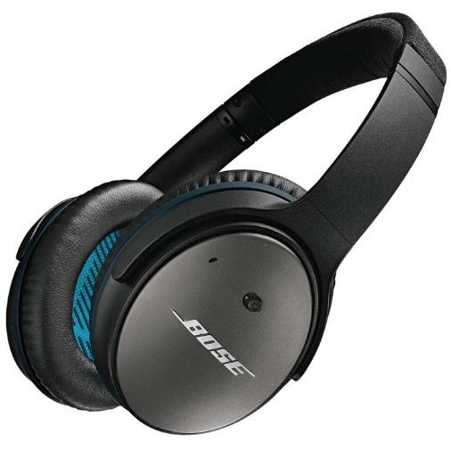 Casque à réduction de bruit active Bose QuietComfort 25 - Noir/Blanc