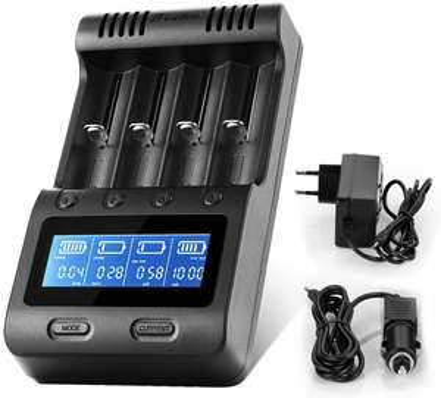 Chargeur de piles intelligent Zanflare C4 (Vendeur tiers)