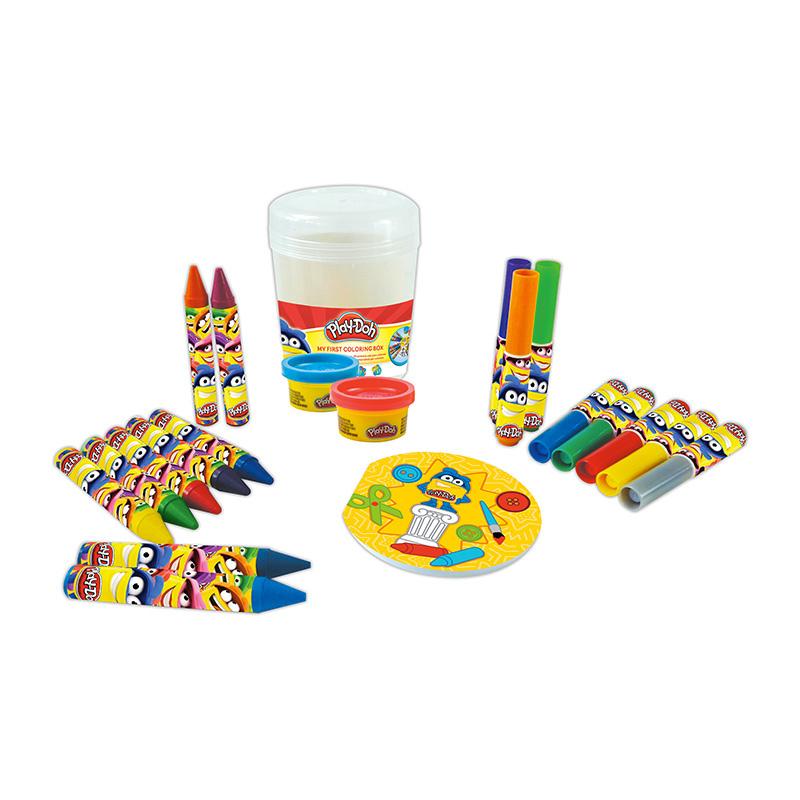 Ma 1ère boîte de coloriage Play-Doh - 20 pièces