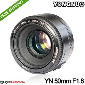 Objectif Yongnuo 50mm f/1.8 monture EF (Canon)