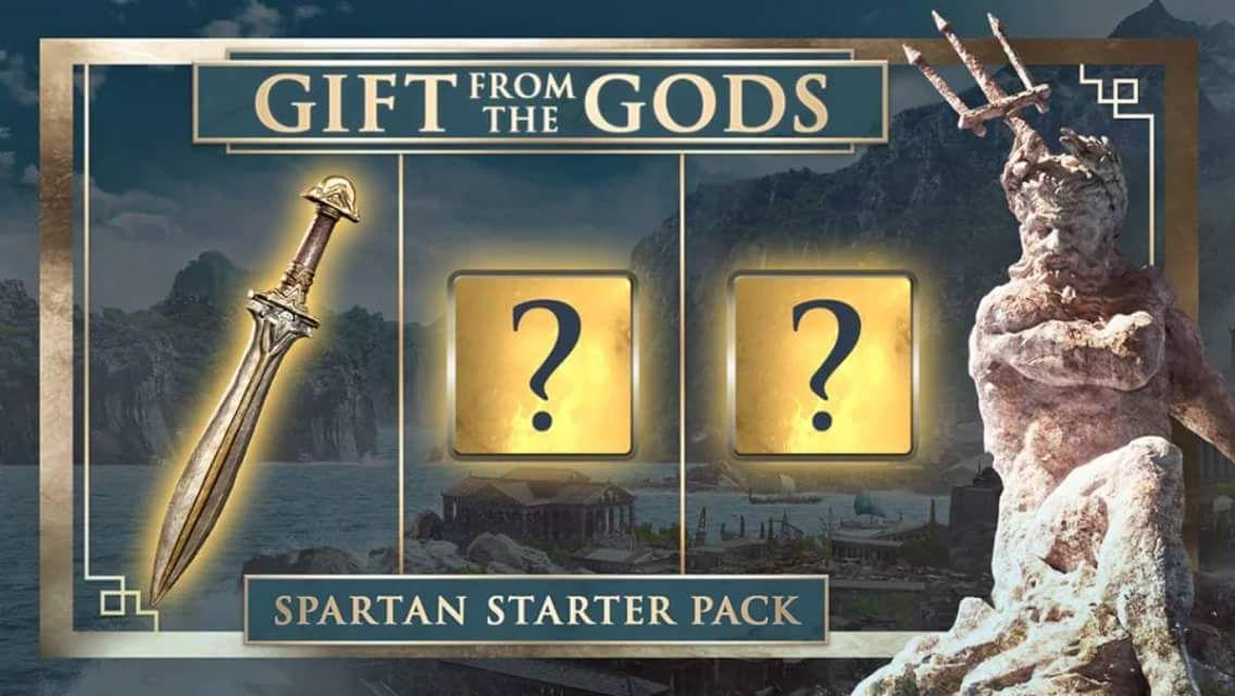 Assassin creed cadeau des dieux