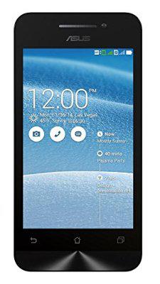 """Smartphone 4"""" Asus Zenfone 4 3G, 8 Go - Blanc"""