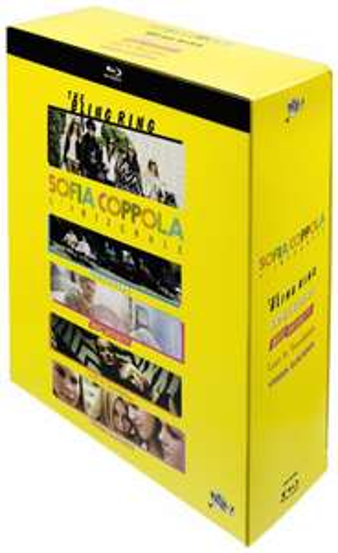 Sélection de films primés (Dvd et Blu-ray) - Ex: coffret 5 Blu-ray Sophia Coppola