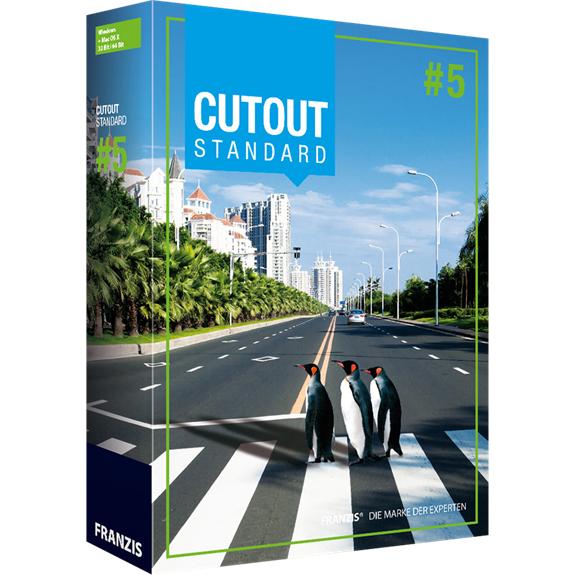 Logiciel de traitement d'image Cutout Standard gratuit sur PC et MacOS
