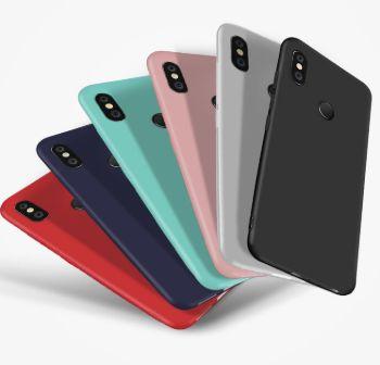 Coque de protection silicone pour Xiaomi Redmi Note 5 (6 couleurs différentes)