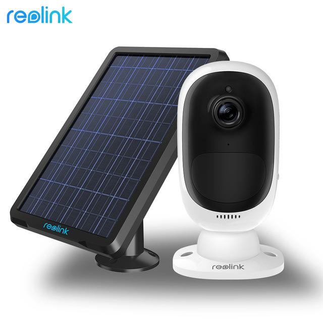 Caméra de surveillance extérieure sur IP Reolink Argus 2 (1080p) + panneau solaire de chargement