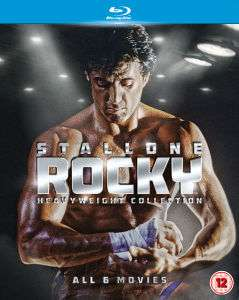 Rocky - L'intégrale de la saga - The Complete Rocky Heavyweight Collection Blu-ray