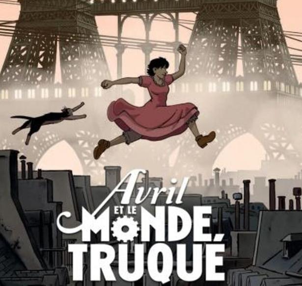 Film d'Animation Avril et le Monde Truqué (2015) Visionnable Gratuitement en Streaming (Dématérialisé VF)