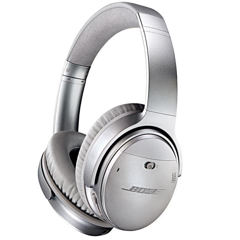 Casque Audio Sans-fil Bose QuietComfort 35V1 Silver - Bluetooth