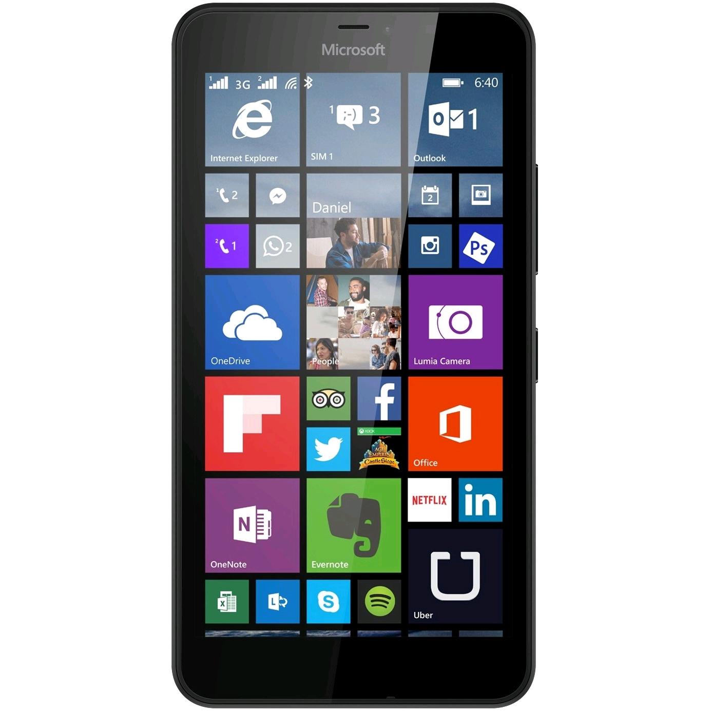 "Smartphone 5"" Microsoft Lumia 640 - 3G (Double Sim) + Office 365 offert pendant 1 an"