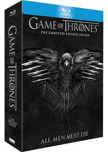 Coffret Blu-ray : Game of Thrones (Le Trône de Fer) - Saison 4 (avec copie digitale)