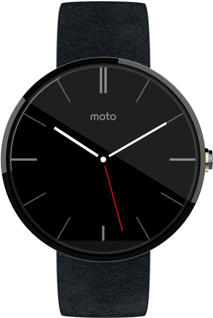 Montre connectée Motorola Moto 360 Noire ou Grise  (Avec ODR de 50€)