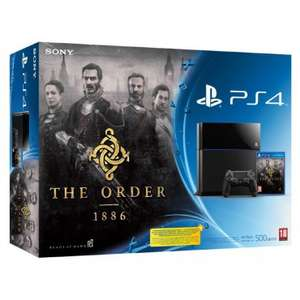Pack Console PS4 500 Go Noire + The Order 1886 + Witcher 3
