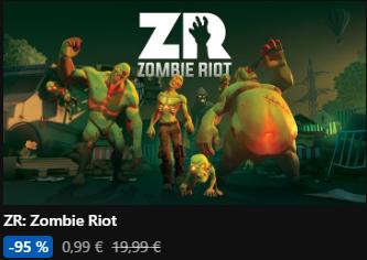 ZR: Zombie Riot pour Oculus Rift sur PC (Dématérialisé) 