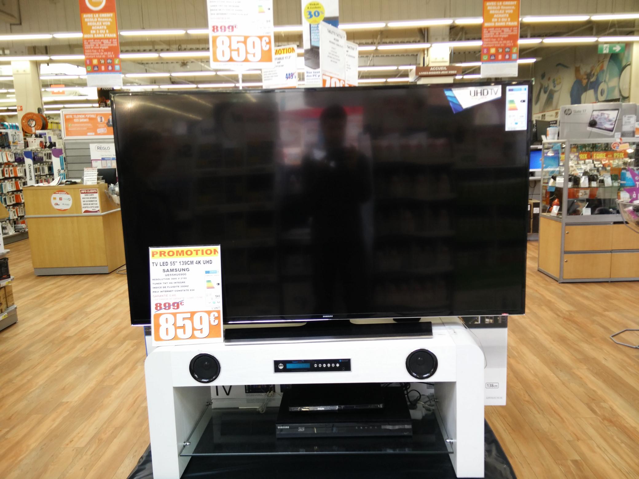 "TV 55"" Samsung UE55HU6900 UHD / 4K"