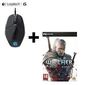 Souris Gaming Logitech G302 + The Witcher 3 sur PC