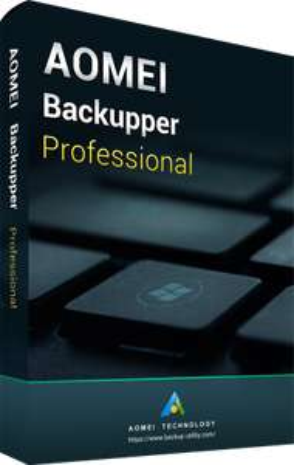Logiciel de sauvegarde AOMEI Backupper Pro gratuit sur PC
