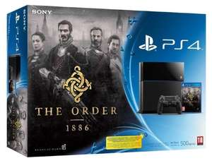 Console PS4 500 Go Noire + The Order 1886 (ou PlayStation TV) + The Witcher 3