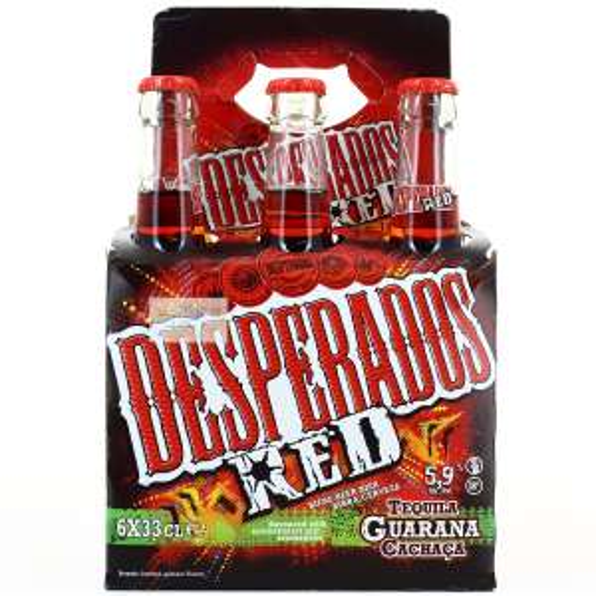 1 pack de Bières Desperados Red ou Mojito - 6X33cl