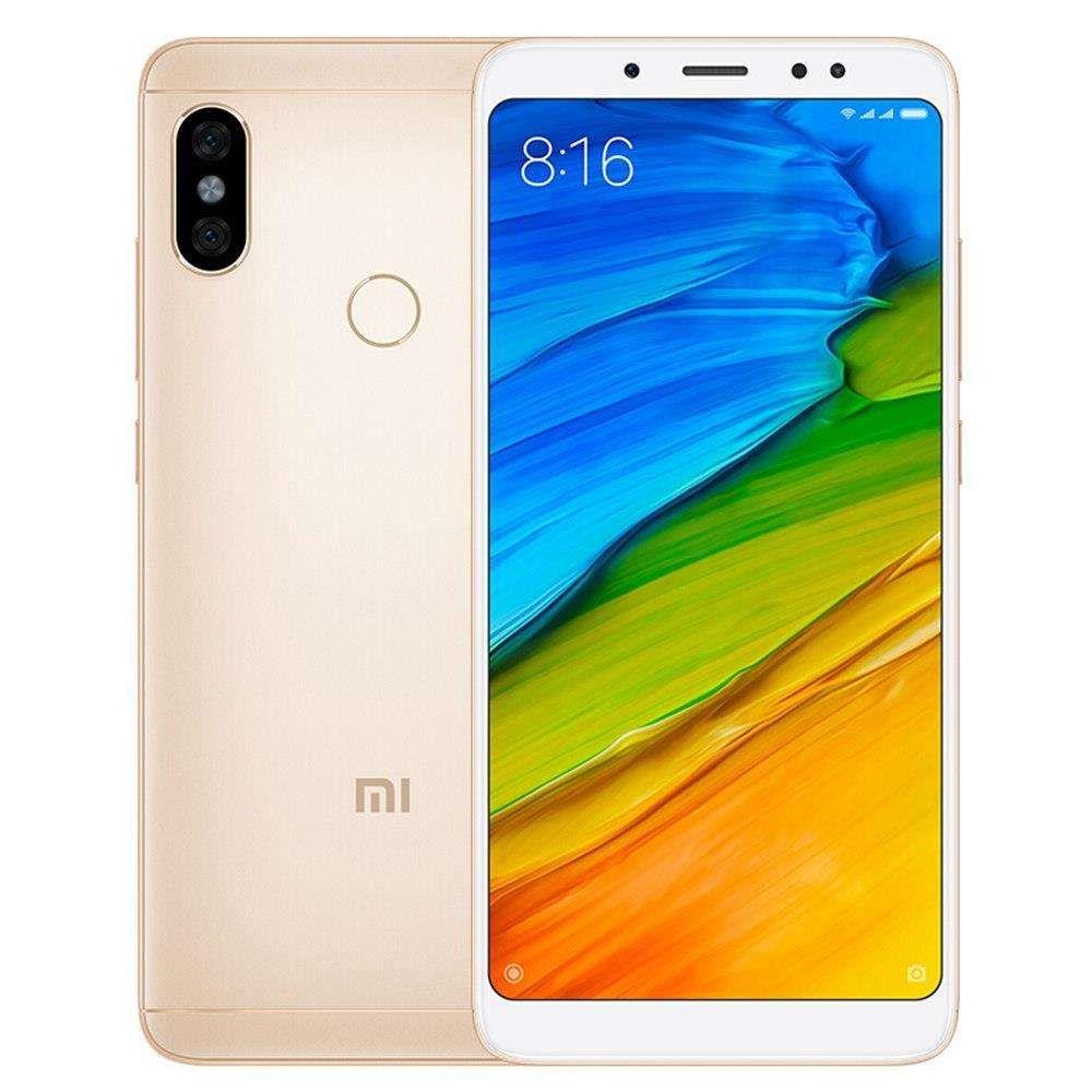 "Smartphone 5.99"" Xiaomi Redmi Note 5 Global Or - 4G (B20), Full HD+, Snapdragon 636, RAM 3Go, 32Go"