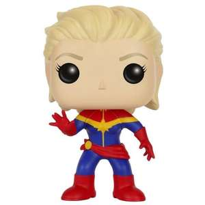 Sélection de Figurines Funko Pop en promotion - Ex : Captain Marvel Unmasked