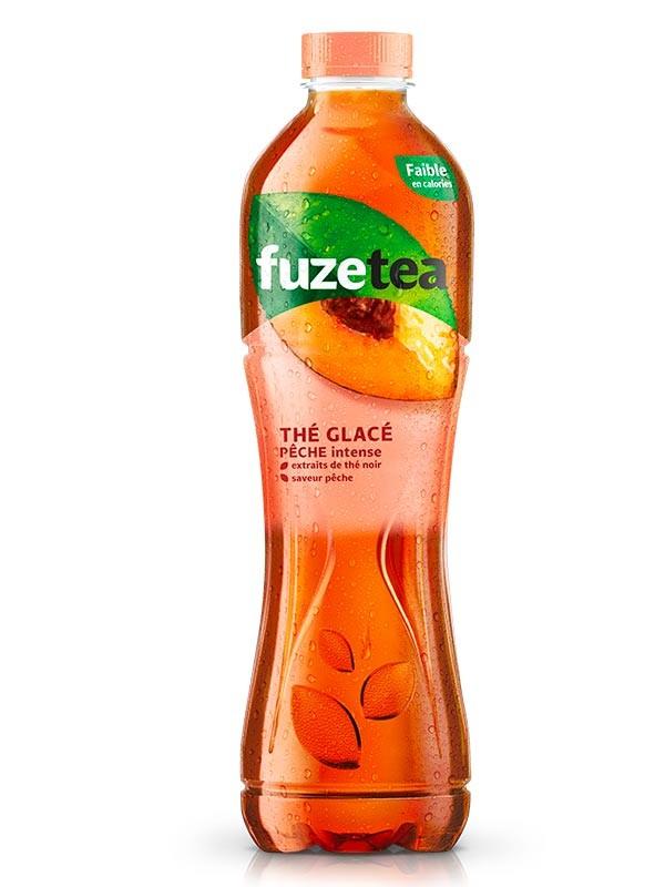 Bouteille de thé glacé FuzeTea - différentes variétés, 1.25L (via BDR)