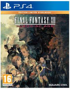 Jeu Final Fantasy XII The Zodiac Age sur PS4 - version Steelbook