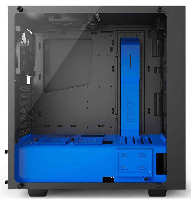 [Adhérents] Boitier PC NZXT S340 Elite (Noir/bleu/transparent)