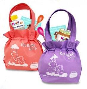 Kit bébé (0-12 mois ou 13-24 mois) Gratuit dans les stations Total participantes