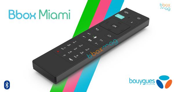 [Abonnés BBox Miami] Telecommande BBOX Miami Voice gratuite