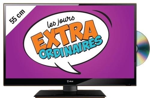 "TV 22"" Tokai TTE22B5414K - FullHD, Combo (via 49.95€ en Tickets)"