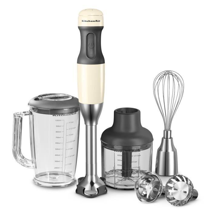 Mixeur plongeant Kitchenaid 5KHB2571EAC - Crème