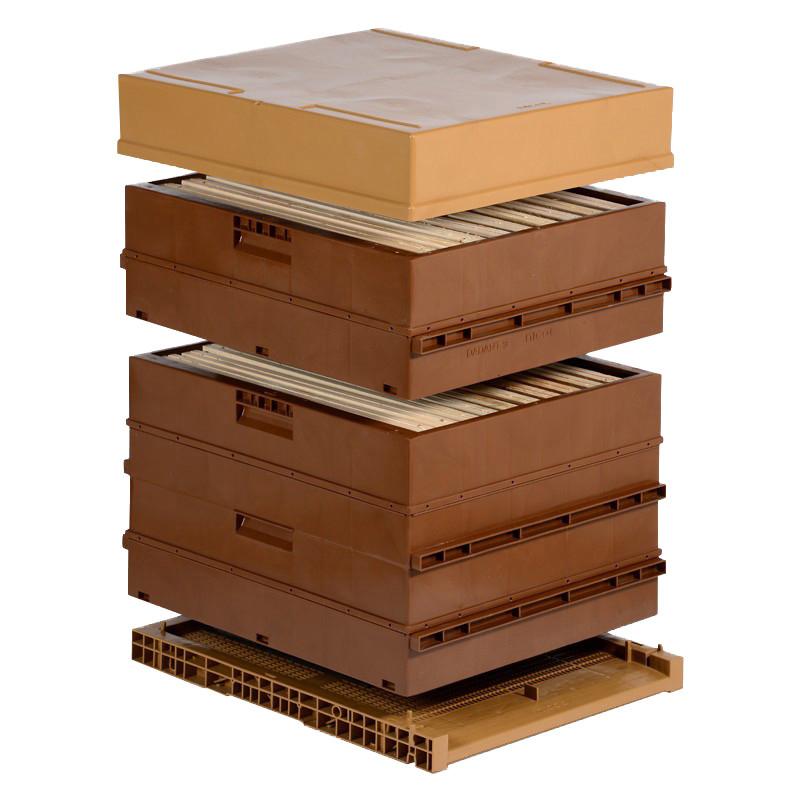 Ruche Dadant 10 cadres Nicot en plastique (apiculture.net)