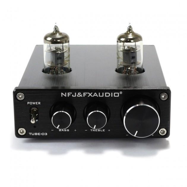 Buffer à lampes FX Audio Tube 03 (Argent ou Noir)