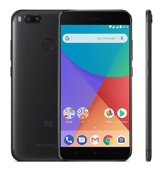 "Smartphone 5,5"" Xiaomi Mi A1 (Noir) - Android One, 4G (B20), Full HD, Snapdragon 625, RAM 4 Go, ROM 32 Go"