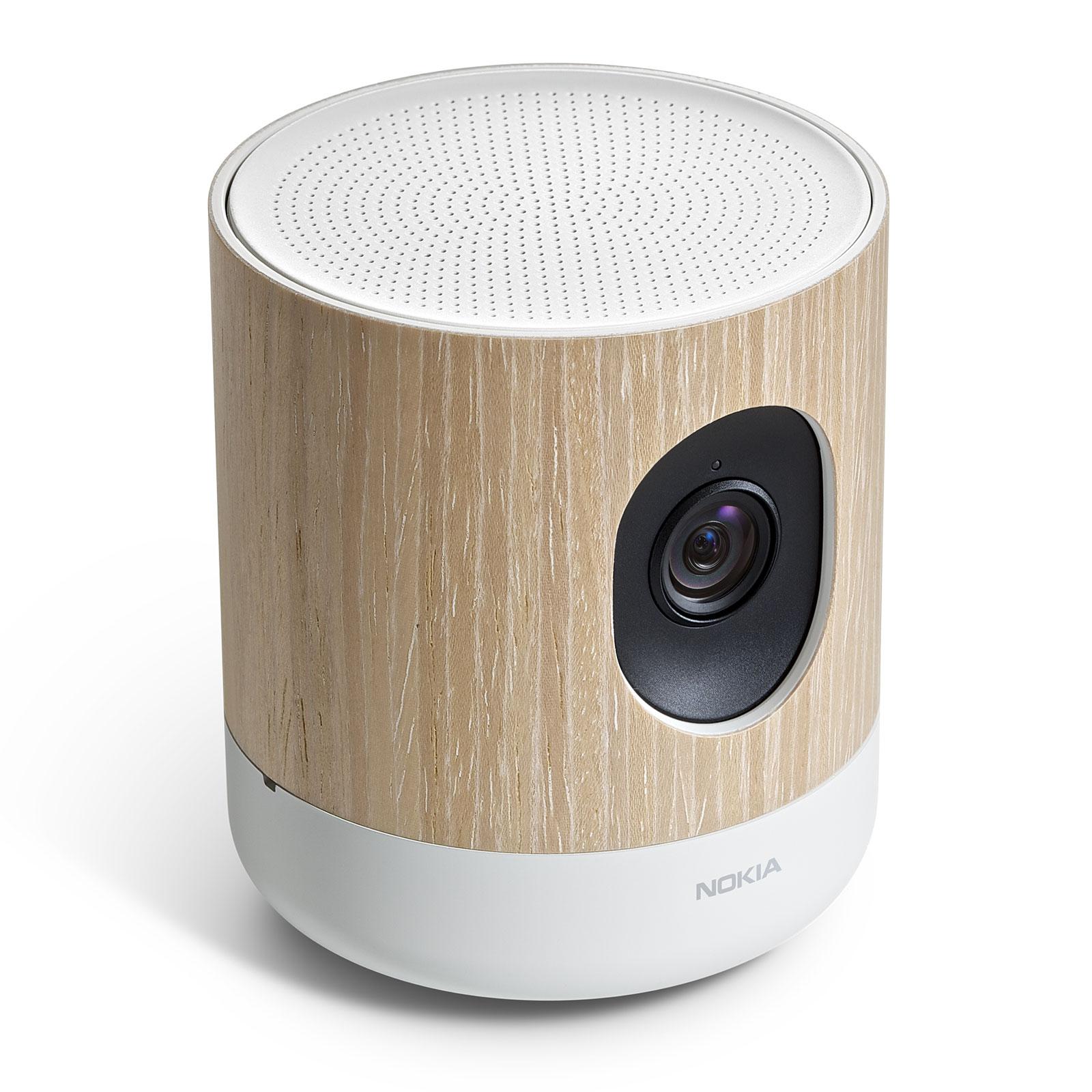 Caméra de surveillance HD connectée Nokia Home