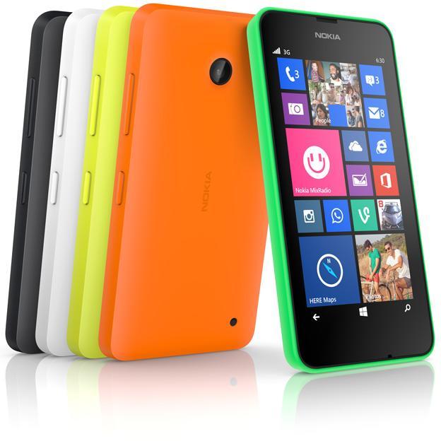 "Smartphone 4,5"" Nokia Lumia 635 Noir + 25€ d'applications offerts (via ODR de 50€)"
