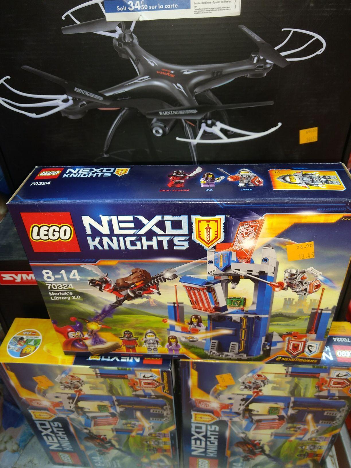 Jeu de Construction Lego Nexo Knights 70324 - La bibliothèque 2.0 de Merlok - L'Isle-d'Abeau (38)
