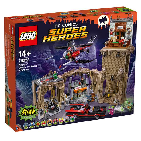 Lego 76052 - serie tv classique batman - la batcave