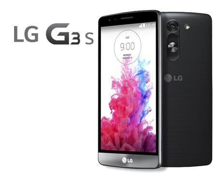 "Smartphone 5"" LG G3 S - 8 Go Noir ou Blanc (4G, Quad Core, 2540 mAh)"
