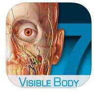 Application Atlas d'anatomie humaine sur iOS