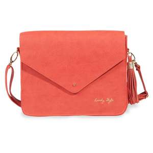 Sac bandoulière corail Lovely Style