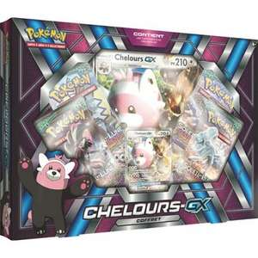 Coffret de carte Pokémon Chelours GX