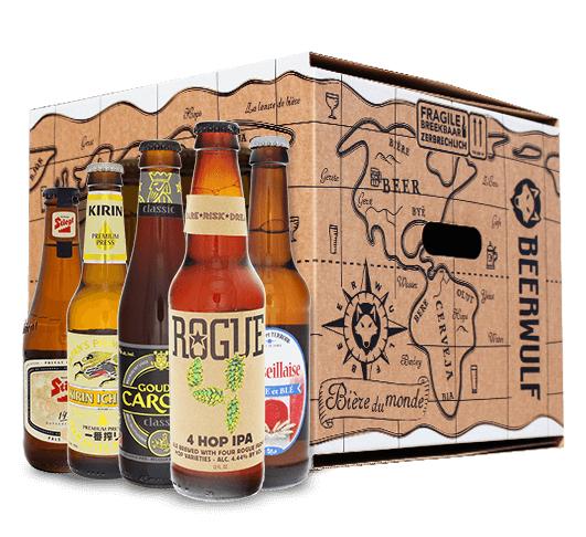 Pack de 16 bières World of Beers (Beerwulf)