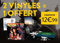 2 Vinyles achetés le 3ème est offert - Ex : Back in Black, Rock or Bust et Stiff Upper Lip