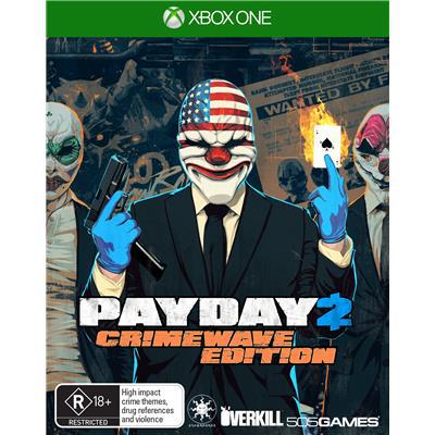 [Membres Gold] Precommande du Jeu (dématérialisé)  Payday 2: Crimewave  sur Xbox One + DLC