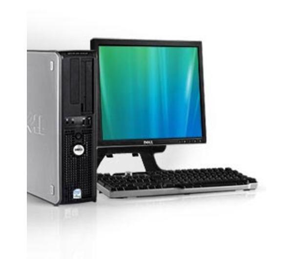 "PC Dell Optiplex 755 avec Ecran 17"" - reconditionné"