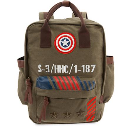 Jusqu'à 50% de réduction sur une sélection d'article - Ex : Sac à dos style militaire Captain America